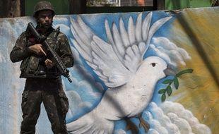 L'armée a pris le contrôle de la sécurité à Rio au Brésil en février dernier, pour tenter d'enrayer la violence.