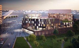Le projet Smaw, à Lille, sortira de terre fin 2018.