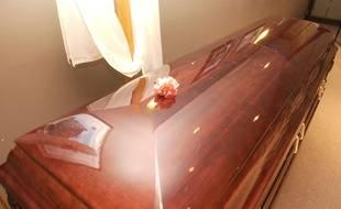 Illustration d'un cercueil.