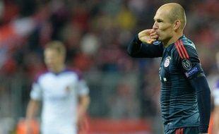 L'attaquant néerlandais du Bayern Munich Arjen Robben, le 17 septembre 2013.