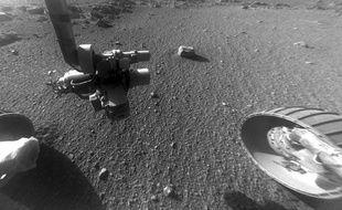 Une photo prise par Opportunity sur Mars le 4 janvier 2018.
