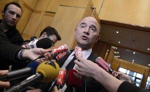 """Le ministre de l'Economie Pierre Moscovici a estimé jeudi que les présidents UMP des commissions des Finances du Parlement n'avaient trouvé à Bercy """"aucun élément venant confirmer les allégations mensongères"""" de Valeurs actuelles le mettant en cause dans l'affaire Cahuzac."""