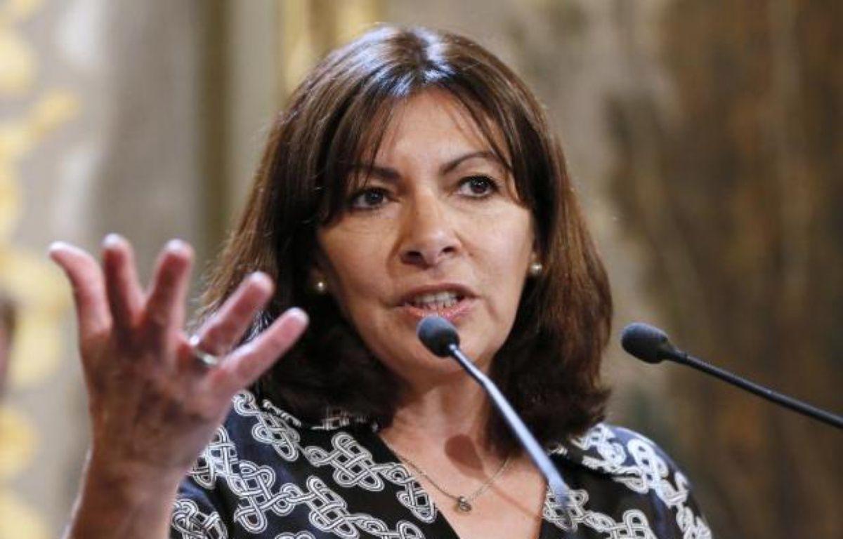 La maire de Paris, Anne Hidalgo, le 21 mai 2015 à Paris – PATRICK KOVARIK AFP