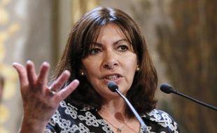 La maire de Paris, Anne Hidalgo, le 21 mai 2015 à Paris