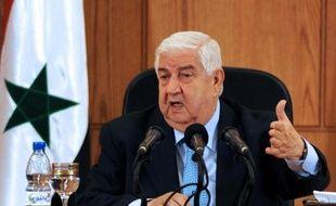 Le ministre syrien des Affaires étrangères, Walid Mouallem, se rend lundi en Russie pour s'entretenir avec son homologue russe Sergueï Lavrov de la situation en Syrie, face aux menaces croissantes de frappes contre le régime.