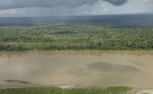Le fleuve Amazone, dans la région de Loreto, au Pérou.