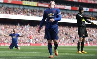 Wayne Rooney, contre Arsenal, le 7 mai.