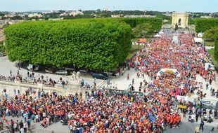 La Montpellier Reine, autre course phare de la ville connaît de plus en plus de succès.