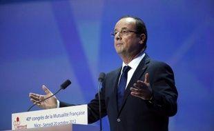 """François Hollande a promis jeudi l'élaboration d'un """"pacte"""" de compétitivité, un terme qu'il a préféré à celui de """"choc"""", qui sera élaboré sur la base du très attendu rapport de Louis Gallois, objet ces derniers jours de toutes les spéculations."""