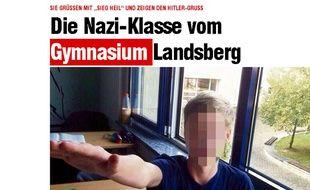 Le site internet du quotidien allemand Bild qui a révélé le scandale.