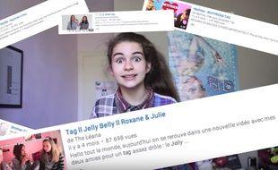 La youtubeuse Adèle a commencé à poster ses vidéos à l'âge de 12 ans et demi.