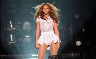Ce soir-là, à Bercy, Beyoncé cherchait un spectateur un peu spécial du regard. Mais il n'était pas là...