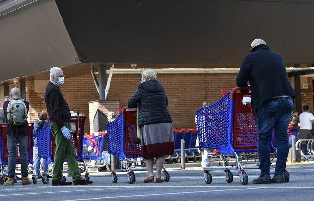 Coronavirus: En Italie, des supermarchés offrent une réduction de 10% aux plus pauvres