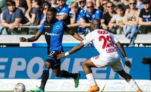 Anthony Limbombe contre le Standard de Liège en avril dernier.