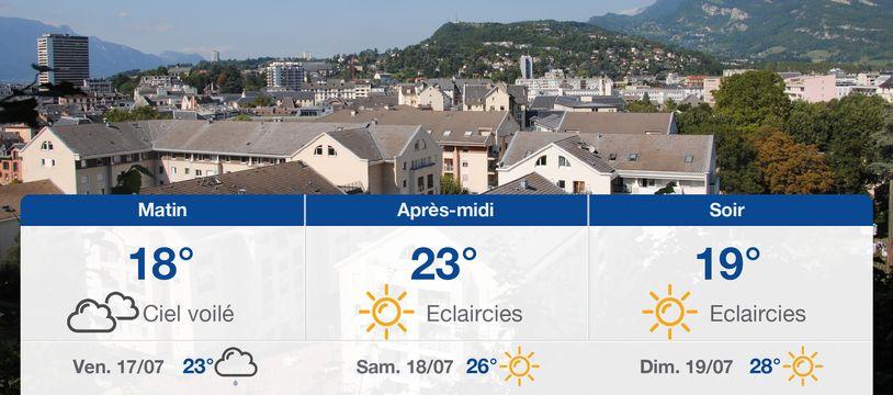 Météo Chambéry: Prévisions du jeudi 16 juillet 2020