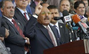 L'ancien président yéménite Ali Abdallah Saleh