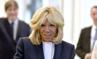 Brigitte Macron, en