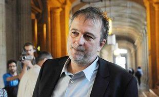 Le journaliste Denis Robert était lui aussi sur le banc des accusés lors du procès Clearstream le 22 septembre 2009.