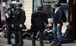 Manifestation du 19 mai à Nantes / AFP PHOTO / JEAN-SEBASTIEN EVRARD