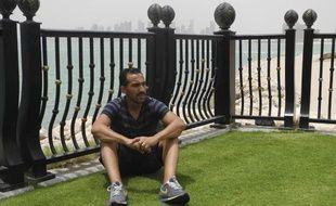 Zahir Belounis, footballeur franco-algérien, coincé au Qatar en raison d'un contentieux financier avec son club