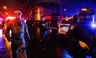 Une fusillade à Jersey City, dans la banlieue de New York, a fait plusieurs victimes, le 10 décembre 2019.