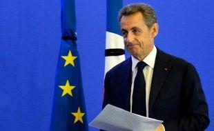 Nicolas Sarkozy, président des Républicains, le 14 novembre 2015 à Paris