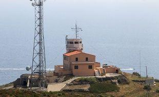 Le sémaphore de Fort Béar, où un attentat a été déjoué par les services de renseignement.