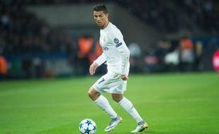 Cristiano Ronaldo lors de PSG-Real Madrid le 21 octobre 2015.