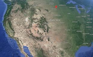 L'accident s'est produit près de Chamberlain, dans le Dakota du Sud.