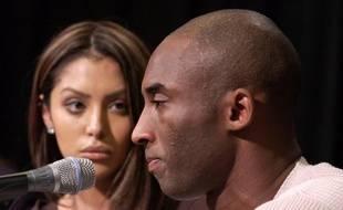 Kobe Bryant et sa femme, Vanessa, en 2003.