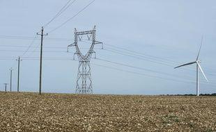 Illustration de source d'énergie électrique.