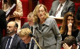 Nicole Belloubet, le 14 janvier 2020 à l'Assemblée.