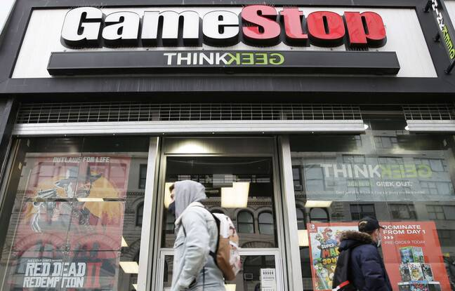 648x415 magasin gamestop vente jeux video new york 27 janvier 2021