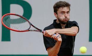 Le Français Gilles Simon à Roland-Garros, le 27 mai 2015.