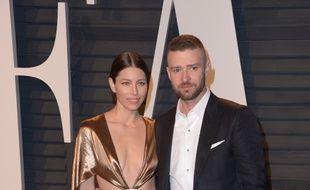 Jessica Biel et Justin Timberlake à Los Angeles