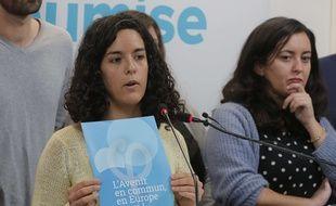 Manon Aubry, tête de liste LFI aux européennes.