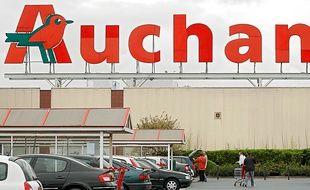 Un supermarché Auchan.