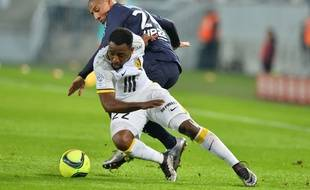 Junior Tallo n'a pas réussi à s'imposer à Lille AFP PHOTO / NICOLAS TUCAT