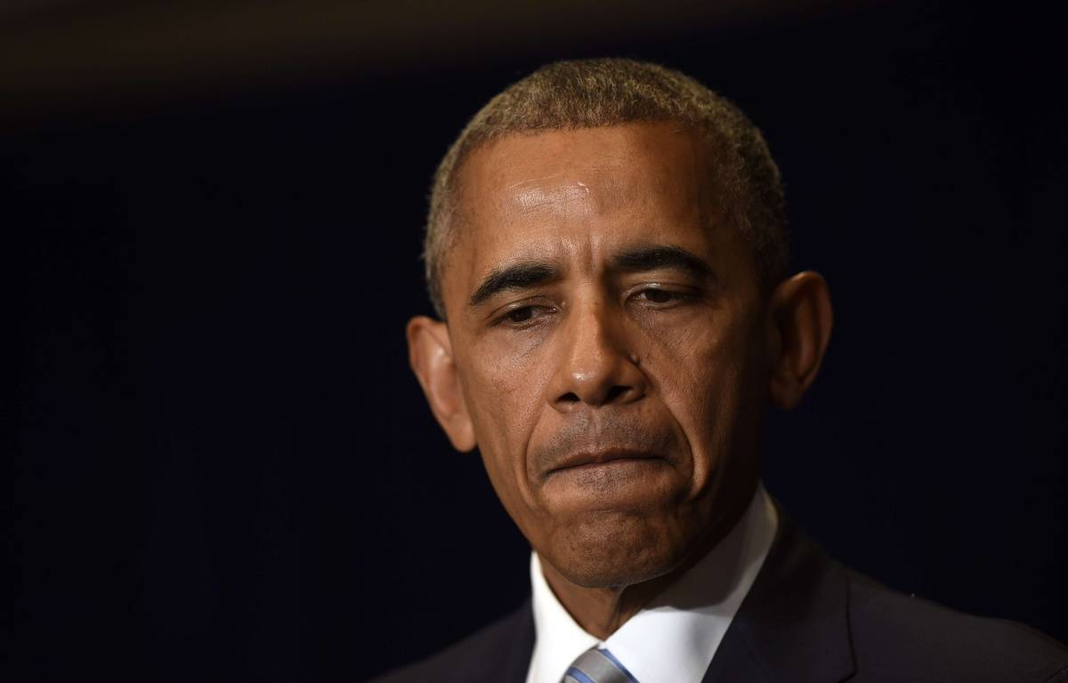 Barack Obama a fermement condamné les attaques. – Susan Walsh/AP/SIPA