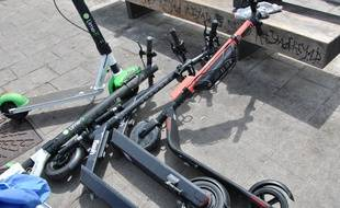Onze trottinettes électriques ont été retrouvées au fond du Vieux-Port par les nettoyeurs