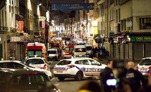 L'assaut à Saint-Denis contre la planque d'Abdelhamid Abaaoud.