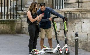 En France, les touristes représentent 42% des utilisateurs en free-floating.