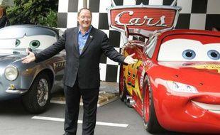 John Lasseter lors de la première de «Cars 2» à Londres, le 17 juillet 2011.