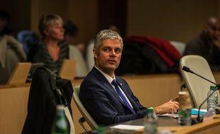 Laurent Wauquiez, au conseil régional Rhône-Alpes-Auvergne