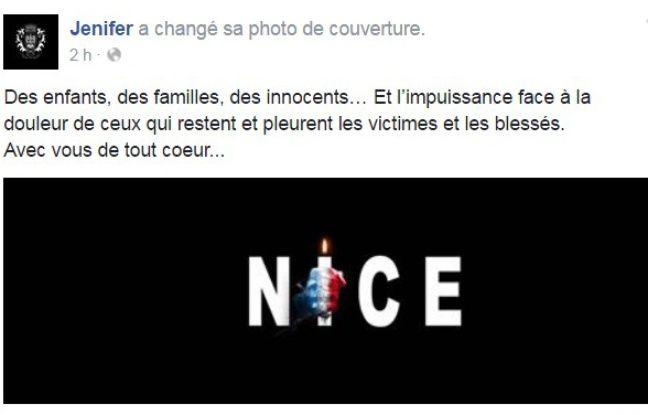 Attentat Facebook: Attentat De Nice: Nekfeu, Jenifer, Bertrand Chameroy... L