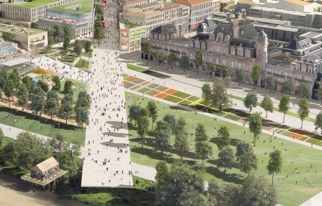 Projet de création d'une rue piétonne entre la gare de Bordeaux et les quais