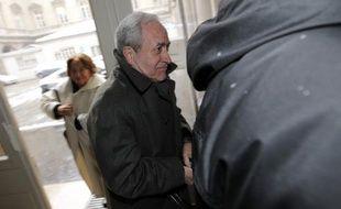 Jean Tibéri au palais de Justice de Paris, le 12 mars 2013.