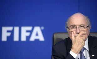 Sepp Blatter à Zürich le 20 juillet 2015.