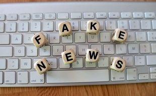 Illustration sur les fausses nouvelles.