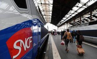 Illustration: Un train de la SNCF.